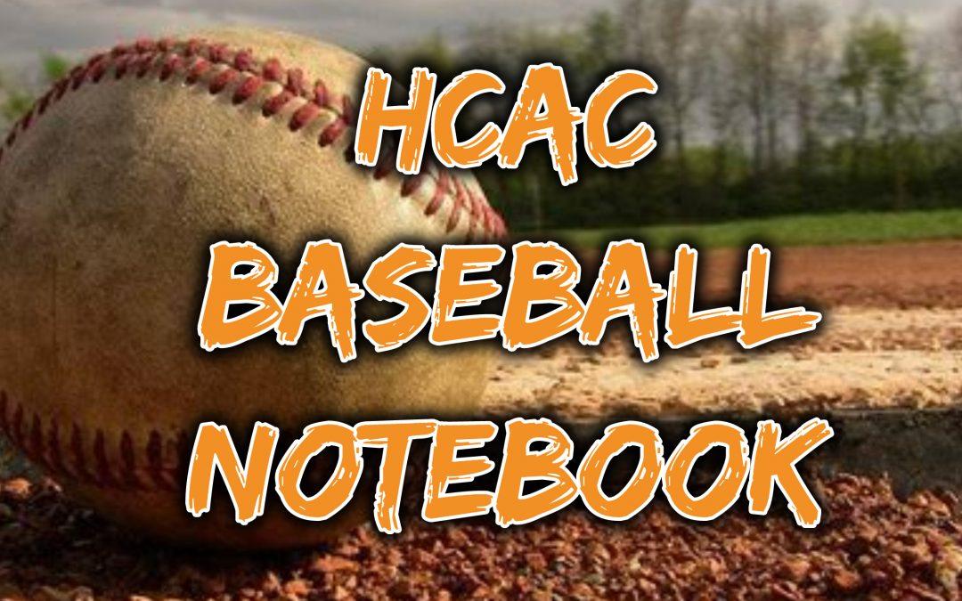HCAC Spring 2021 Baseball Notebook, Week 10