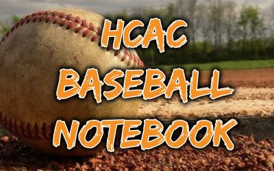HCAC Spring 2021 Baseball Notebook, Week 10