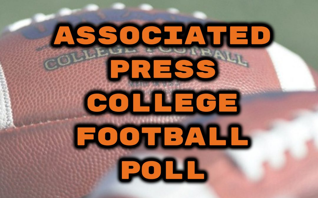 AP PRE-SEASON COLLEGE FOOTBALL POLL..INDIANA AND NOTRE DAME RANKED
