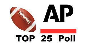 AP COLLEGE FOOTBALL POLL