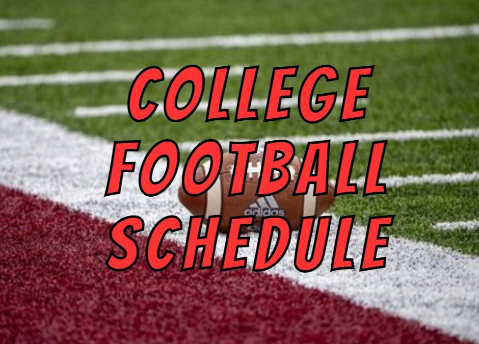 COLLEGE FOOTBALL SCHEDULE-WHERE TO WATCH